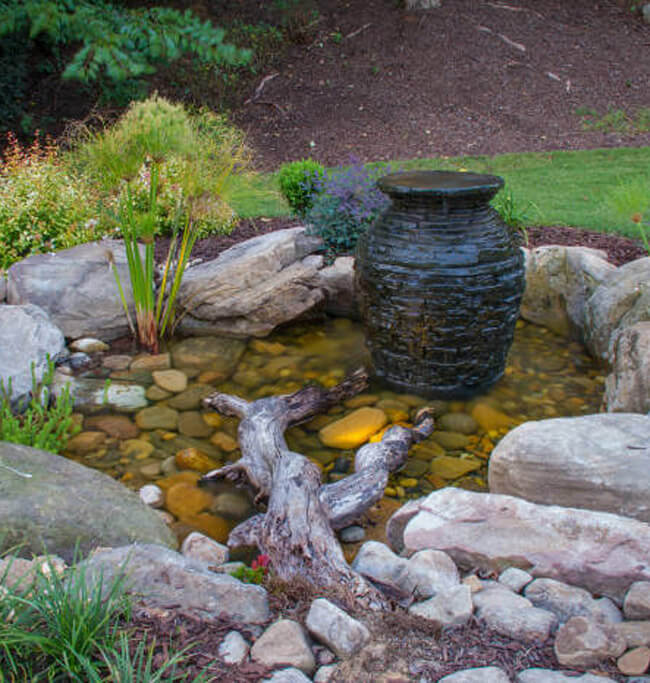 Pond Services Rochester NY - Ponds And Patios Rochester NY Pondless Waterfall Design